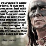 American Indian On Christians